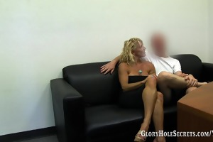 gloryhole secrets gina engulfing and swallowing