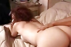 redhead wife receive jizzed on
