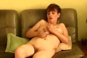 older mama and masturbating solo