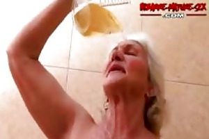 granny likes to acquire drilled by guys