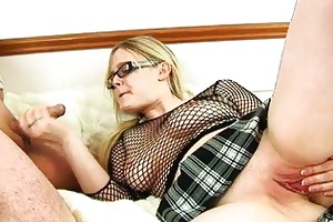 chunky blond d like to fuck with glasses acquires