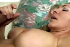 aged bitch securing an agonorgasmos