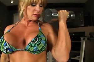aziani iron kat connors stripped workout.