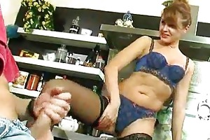 sexy aged mother i receives drilled