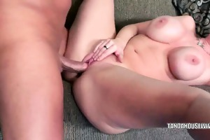 breasty mother i sara jay receives her wet crack
