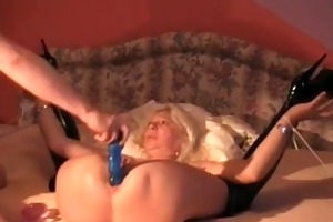 cougar acquires my pecker deep in her wazoo
