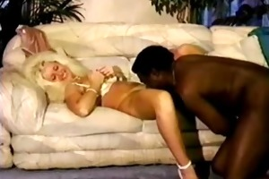 sexy blonde older wife takes bbc and hubby cleans