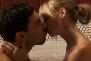 perfect blonde oral sex from india