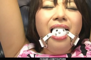 wicked oriental bimbo with hirsute cookie bawdy
