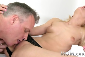 mommy slim blond mother i cums hard