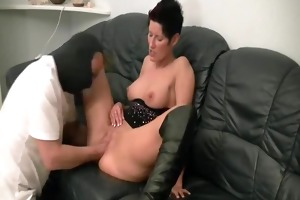 sexy brunette hair d like to fuck fisted by the