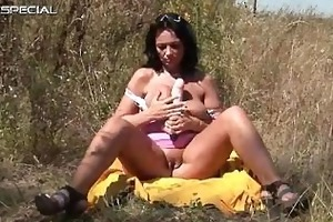 horny milf gets fucked hard outdoor free part5