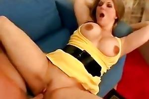 lustful momma elle cee gets her slit drilled so