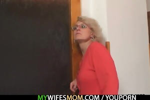 mother in law copulates him and his wife comes in
