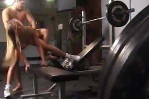 gym d like to fuck drilled and jizzed on