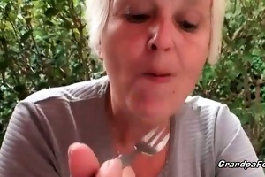 older whore urinate and gives head