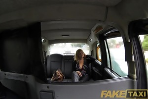 faketaxi sexy american mother i with large
