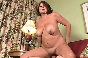60 yo aged granny suzie wood hairless cum-hole