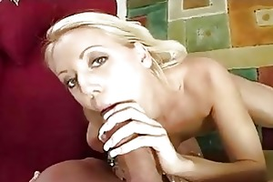 sexy blond d like to fuck in white underclothing
