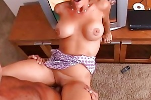 brunette hair glamorous d like to fuck with large