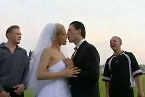 hawt bride trashed