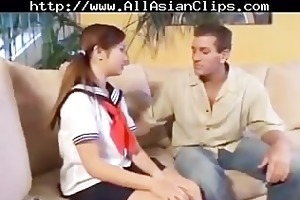 japanese legal age teenager with older oriental