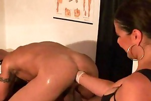 fiery femdom d like to fuck with strapon fists