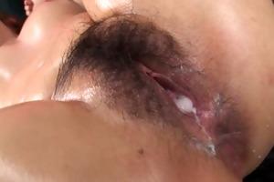 breasty and oiled up woman ai okada rod sucking