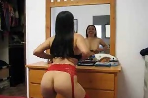 filipina cum floozy gina jones doing her cum dance