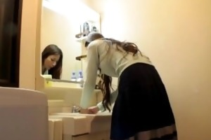 incredibly concupiscent japanese milfs engulfing