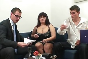 chaps group-sex massive titted older
