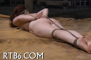 impressive hotty receives senseless caning