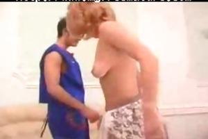 retro vintage granny mama son sex older aged porn