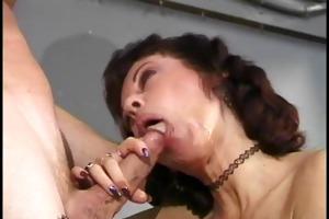 older playgirl enjoys a banging session