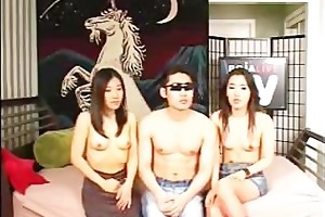 [korea] youthful korea hard core threesome -