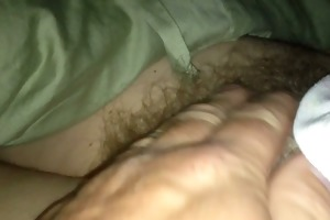 revealing the wifes soft furry natural hairy