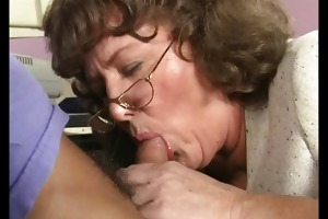 insane old mommy acquires large jock
