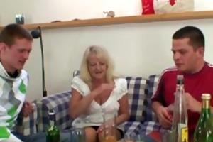 drunk blond granny in hawt some fuckfest