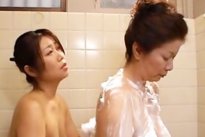 slutty japanese aged babes engulfing part6