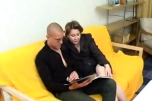 russian mamma receives wazoo pumped russian