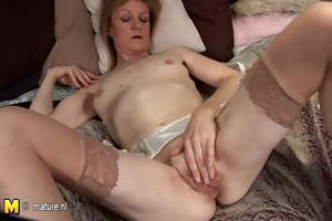 grandma jj receives nasty and stripped on her own