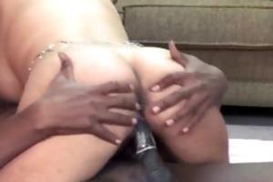 latin babe housewife gal is taking threesome dark