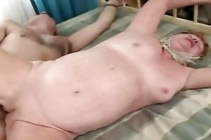 old granny receives fucked hard and indeed