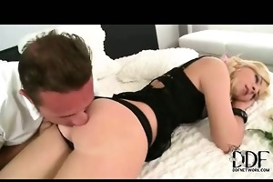 sexy bewitching playgirl tempted and permeated
