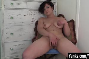 cute non-professional angel ahna masturbating