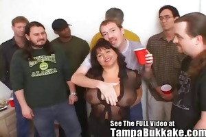 susies gang team fuck bukkake party for tampa