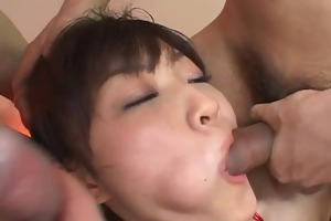 yukina ishikawas trimmed muff is filled with
