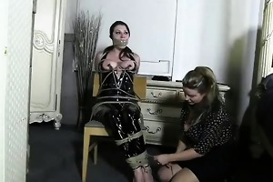 perverted cutie bdsm roleplay and drubbing