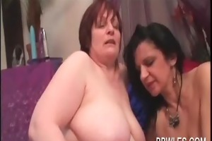 lesbian aged big beautiful woman engulfing