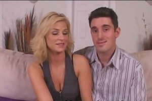 brooke bonks recent lad as nick watches